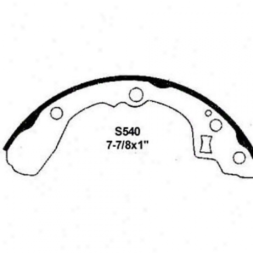 Wearever Silver Brake Pads/shoes - Rear - Nb540