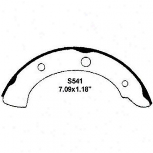 Wearever Silver Brake Pads/shoes - Rear - Nb541