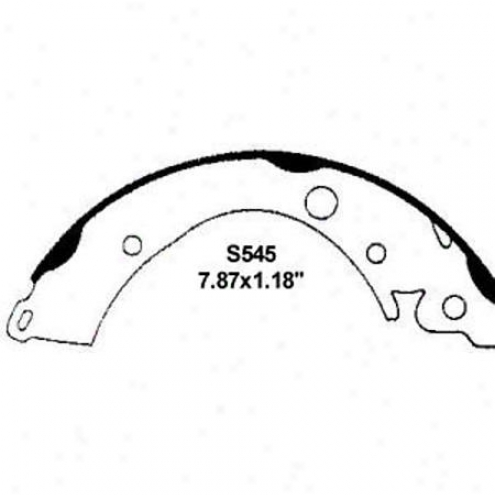 Wearever Silver Brake Pads/dhoes - Rsar - Nb545