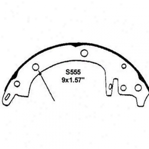 Wearever Silver Brake Pads/shoes - Rear - Nb555