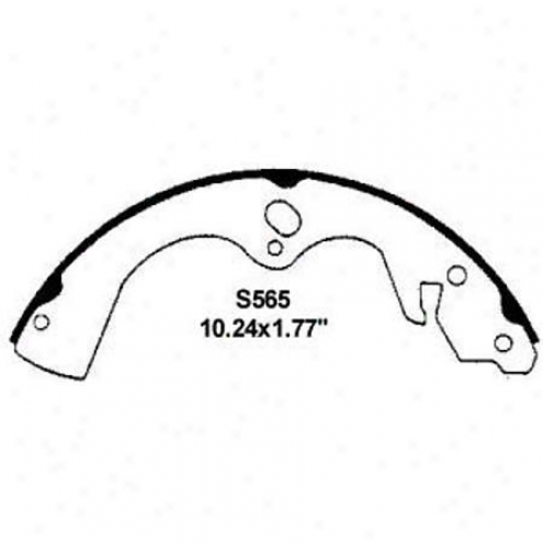 Wearever Silver Brake Pads/shoes - Rear - Nb565