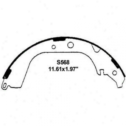 Wearever Silver Brake Pads/shoes - Rear - Nb568