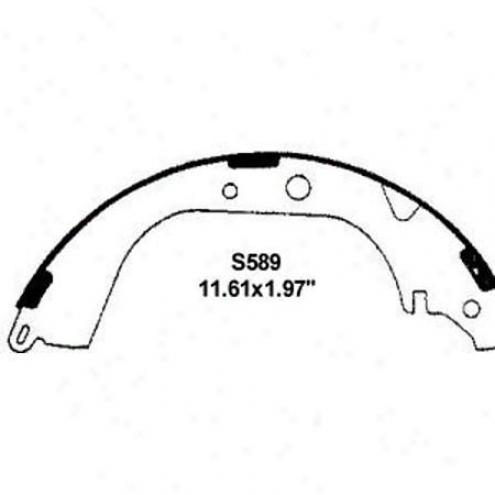 Wearever Silver Brake Pads/shoes - Rear - Nb589