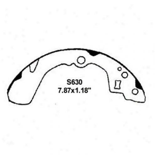 Wearever Silver Brake Pads/shoes - Rear - Nb630