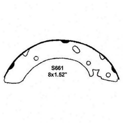 Wearever Silver Brake Pads/shoes - Rear - Nb661