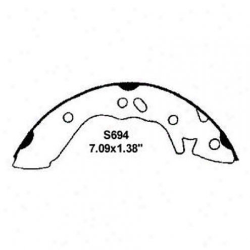 Wearever Silver Brake Pads/shoes - Rear - Nb694