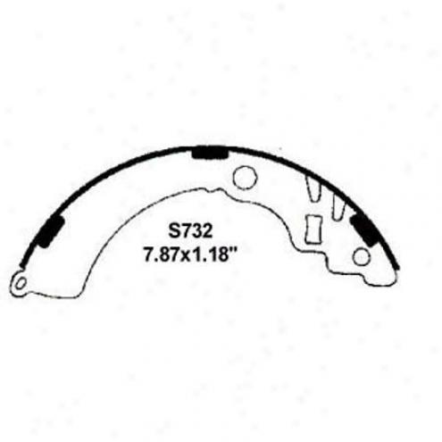 Wearever Silger Brake Pads/shoes - Stir up - Nb732