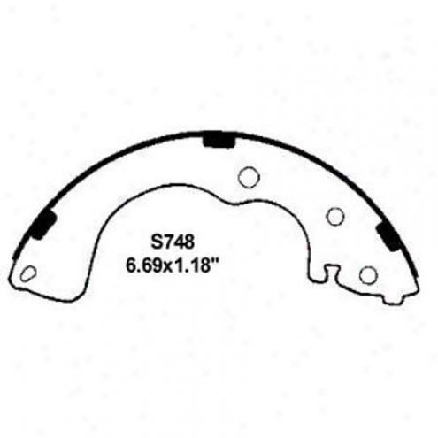 Wearever Silver Brake Pads/shoes - Rear - Nb748