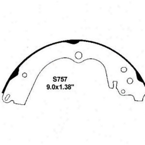 Wearever Silver Brake Pads/shoes - Raise - Nb757