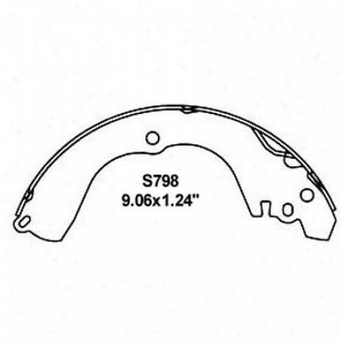 Wearever Silver Brake Pads/shoes - Rear - Nb798