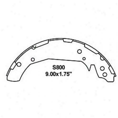 Wearever Silver Brake Pads/shoes - Rear - Nb800