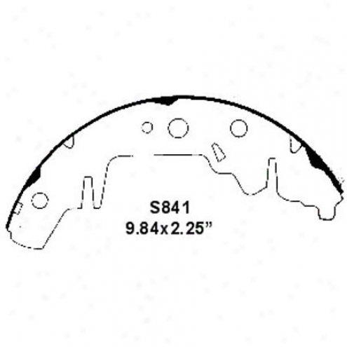 Wearever Silver Brake Pads/shoes - Rear - Nb841