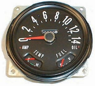 1959-1979 Jeep Cj5 Speedometer Omix Jeep Speedometer 17205.02 59 60 61 62 63 64 65 66 67 68 69 70 71 72 73 74 75 76 77 78 79