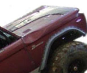 1966-1977 Ford Bronco Fender Flares Bushwacker Ford Fender Flares 20001-07 66 67 68 69 70 71 72 73 74 75 76 77