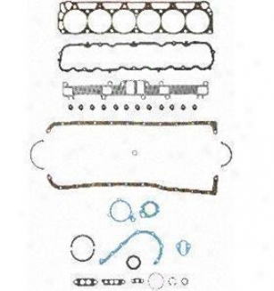 1967-1974 Wade through Bronco Engine Gasket Set Felpro Ford Engine Gasket SetF s7916pt-2 67 68 69 70 71 72 73 74
