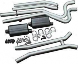 1968-1970 Dodge Charger Exhaust System Flowmaster Dodge Exhaust System 17382 68 69 70