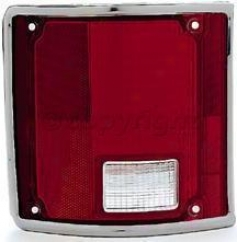 1975-1986 Chevrolet K5 Blazer Tail Light Lens Replacement Chevrolet Tail Light Lend 11-1283-09 75 76 77 78 79 80 81 82 83 84 85 86