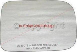 1975-1989 Dodge D100 Mirror Glass Ppg Auto Glass Dodge Morror Glass 3093 75 76 77 78 79 80 81 82 83 84 85 86 87 88 89
