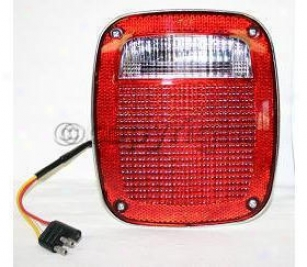 1976-1980 Jeep Cj7 Tail Light Replacement Jeep Tail Light J730109 76 77 78 79 80
