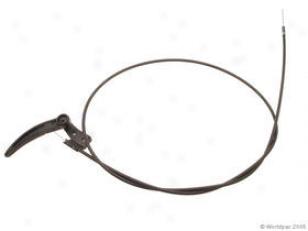 1980-1984 Volkswagen Jetta Hood Release Cable Gemo Volkswagen Hood Release Cable W0133-1634476 80 81 82 83 84