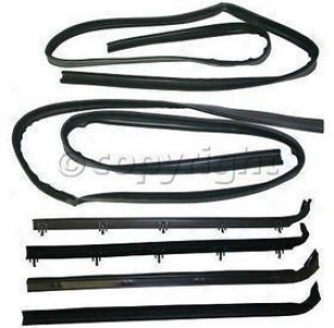 1980-1986 Ford Bronco Beltline Weatherstrip Precision Parts Ford Beltline Weatherstrip Wfk 2111 80 80 81 82 83 84 85 86