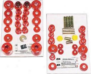 1980-1996 Ford Bronco Master Bushing Kit Energy Susp Ford Master Bushing Kit 4.18101r 80 81 82 83 84 85 86 87 88 89 90 91 92 93 94 95 96
