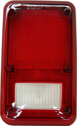 1981-1993 Dodge B150 Tail Light Lens Replacement Dodge Tail Light Lsns 11-1435-02 81 82 83 84 85 86 87 88 89 90 91 92 93