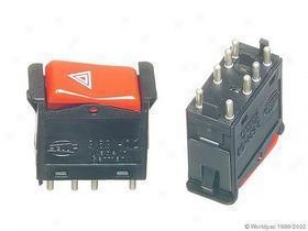 1982-1983 Mercedes Benz 240d Hazard Flasher Switch Hella Meecedes Benz Hazard Flasher Switch W0133-1630643 82 83