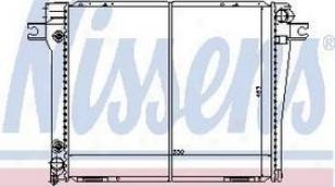 1982-1988 Bmw 528e Radiator Nissens Bmw Radiator 60628 82 83 84 85 86 87 88