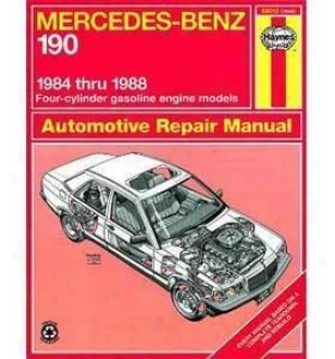 1984-1985 Mercedes Benz 190d Repair Manual Haynes Mercedes Benz Repair Manual 63015 84 85