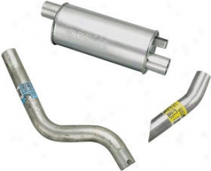 1984-1986 Chrysler Laser Exhaust System Dynomax Chrysler Exhaust A whole  17488 84 85 86