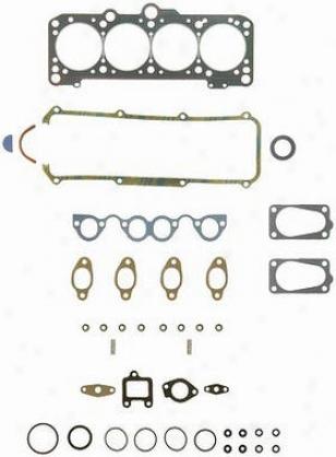 1984-1987 Audi 4000 Cylinddr Head Gasket Felpro Audi Cylinder Head Gasket Hs9090b 84 85 86 87