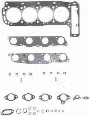1984-1988 Mercsdes Benz 190e Cylinder Head Gasket Felpro Mercedes Benz Cykinder Head Gasket Hs9743pt 84 85 86 87 88