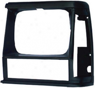 1984-1990 Jeep Cherokee Headlight Bezel Omix Jeep Headlight Bezel 12419.09 84 85 86 87 88 89 90