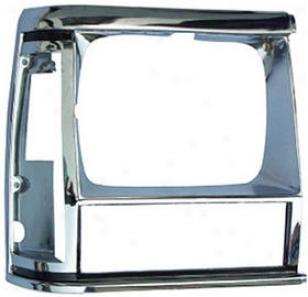 1984-1990 Jeep Cherokee Headlight Bezel Omix Jeep Headlight Bezel 12419.12 84 85 86 87 88 89 90
