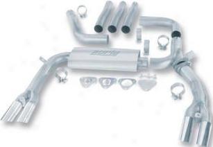 1984-1992 Chevrolet Camaro Exhaust System Borla Chevrolet Exhaust System 14888 84 85 86 87 88 89 90 91 92