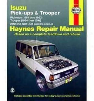19984-1993 Isuzu Trooper Repair Of the hand Haynes Isuzu Repair Manual 47020 84 85 86 87 88 89 90 91 92 93