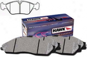 1985-1986 Bmw 524td Brake Pad Set Hawk Bmw Brake Pad Set Hb137f.690 85 86