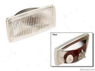 1985-1986 Bmw 524t Fog Light Lens Oes Genuinee Bmw Fog Light Lens W0133-1613282 85 86
