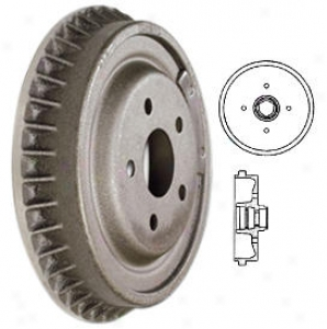 1985-1988 Volkswagen Golf Brake Drum Centric Volkswageen Thicket Drum 122.33001 85 86 87 88