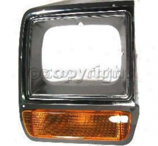 1986-1989 Dodge D100 Headlight Door Replacement Dodge Headlight Door 7281 86 87 88 89
