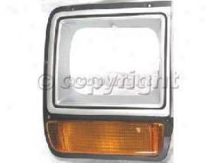 1986-1989 Dodge D100 Headlight Door Replacement Dodge Headlight Door 7289 86 87 88 89