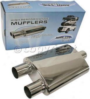 1986-2001 Acura Integra Muffler Kool Vue Acura Muffler Kv150117 86 87 88 89 90 91 92 93 94 95 96 97 98 99 00 01