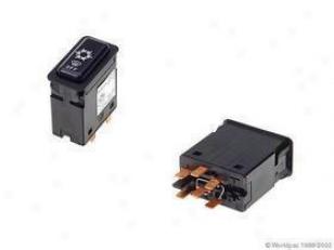 1987-1988 Bmw 528e A/c Switch Oes Genuine Bmw A/c Switch W0133-1621437 87 88