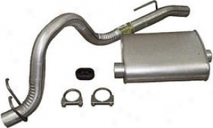1987-1990 Jeep Honor man Exhaust System Omix Jeep Exhaust System 17606.09 87 88 89 90