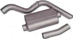 1987-1991 Chevrolet Blazer Exhaust System Flowmaster Chevrolet Exhaust System 17161 87 88 89 90 91