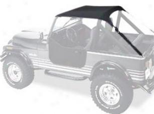1987-1991 Jeep Wrangler Bikini Top Bestop Jeep Bikini Top 52508-01 87 88 89 90 91