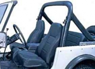 1987-1991 Jeep Wrangler Roll Bar Padding Rugged Ridge Jeep Roll Bar Padding 13610.01 87 88 89 90 91