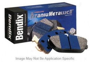1987-1993 Ford Musrang Brake Pad Set Bendix Ford Brake Pad Set Mkd200 87 88 89 90 91 92 93