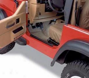 1987-1995 Jeep Wrangler Door Sill Protector Bestop Jeep Door Sill Protector 51047-01 87 88 89 90 91 92 93 94 95